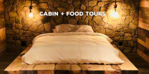 Cabin and food tours